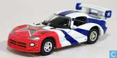 Voitures miniatures - Johnny Lightning - Dodge Viper GTS 'Coca-Cola'