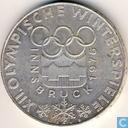 """Autriche 100 schilling 1974 """"1976 Olympics - Innsbruck"""""""