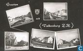 Groeten uit Valkenburg ZH (vijfluik)