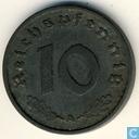 Monnaies - Allemagne - Empire allemand 10 reichspfennig 1940 (A)