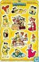 De Flintstones ansicht met stickers