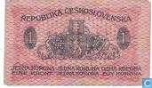 Tschechoslowakei 1 Koruna