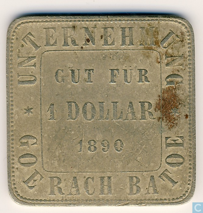 Nederlands indi 1 dollar 1890 plantagegeld sumatra for Catalogue plantation