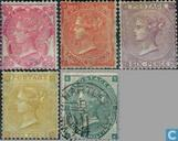 1862 Queen Victoria Four little letters (GRB 9)