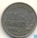 France 100 francs 1954 (without B)