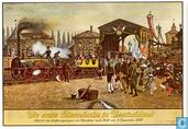 Die Erste Eisenbahn in Deutschland