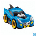 Superfriends Shake 'n Go Racers - Blue Batmobile