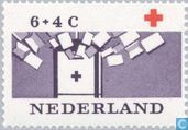 Postage Stamps - Netherlands [NLD] - 100 years of Red Cross