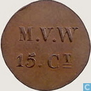 15 cent 1841-1859 Rijksgesticht Veenhuizen V1