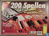 200 Spellen - Houten Kist