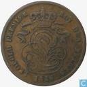 Belgium 2 centimes 1836