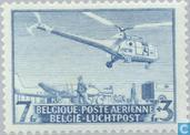 Helicopter mail flight service