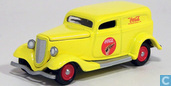 Voitures miniatures - Johnny Lightning - Ford Delivery Van 'Coca-Cola'