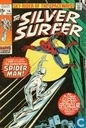 The Surfer battles Spider-Man