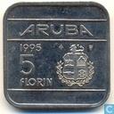 Aruba 5 Florin 1995