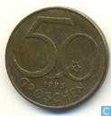Autriche 50 groschen 1973
