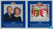 1992 Vorstenpaar- Huwelijksjubileum (LIE 350)