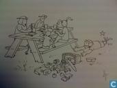 """Fokke & Sukke Familieplanner """"Picknick"""""""