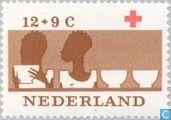 Timbres-poste - Pays-Bas [NLD] - 100 ans de la Croix Rouge
