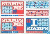 I love stamps 80 80 80 + tabs