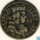Autriche 3 Kreuzer 1649