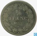 Belgium 1 / 4 Franc 1835