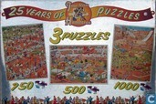 3 Puzzles / 25 years of Jan van Haasteren