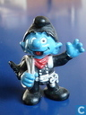 Chimney sweep smurf