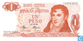 Argentine 1 Peso 1970
