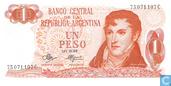 Argentinien 1 Peso 1970