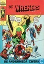 Strips - Avengers [Marvel] - De andromeda zwerm!