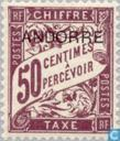 Printed on postage stamps France