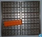 Templates and molds - Chocolate moulds - Reep, motief: Locara