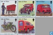 2003, les véhicules postaux (MAN 227)