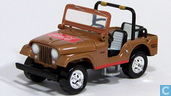 Model cars - Johnny Lightning - Jeep CJ-5 'Coca Cola'