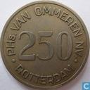 Boordgeld 2½ gulden 1964 van Ommeren