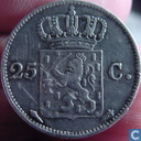 Pays Bas 25 cent 1822