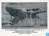 Thunderbird 2 unloading pod 3 containing radio controlled elevator cars.