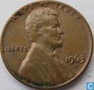USA 1 cent 1963 D