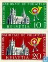 Postzegeltentoonstelling Lausanne