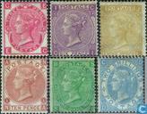 1867 Queen Victoria Rose Filigrane (GRB 11)