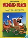 Donald duck maakt bokkesprongen