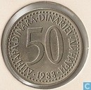 Joegoslavië 50 dinara 1988