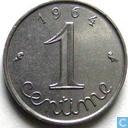 France 1 centime 1964