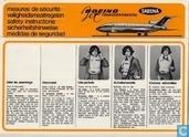 SABENA - 727-100 (01) Jet Transcontinental