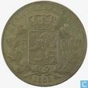 Belgium 5 francs 1865/55