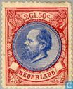 Briefmarken - Niederlande [NLD] - König William III-5. emission