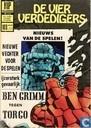 Strips - Fantastic Four - Ben Grimm tegen Torgo