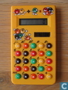 M&M's calculator geel (LCD)