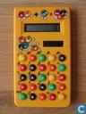 M&M's calculator geel (LCD)